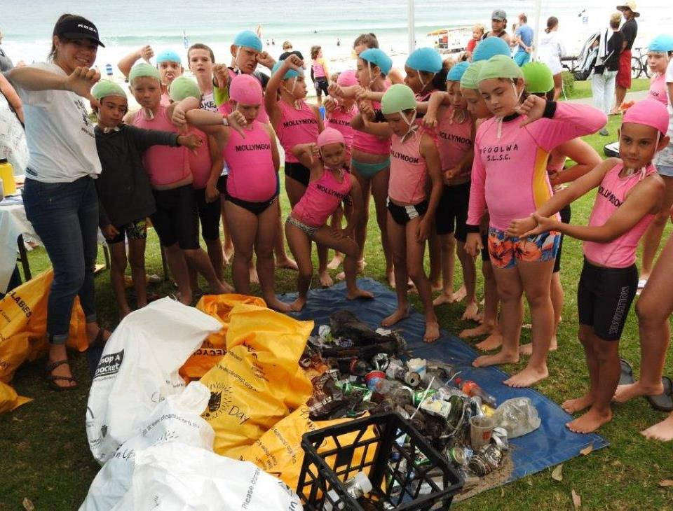 mollymook ocean swimmers,mollymook beach,mollymook,clean up Australia day