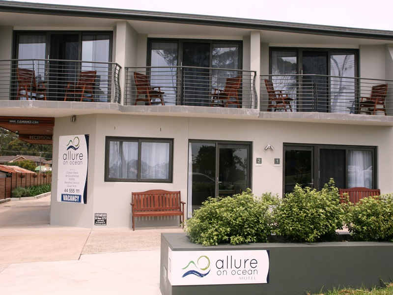 Allure on Ocean,Mollymook motel,4 star,motel at mollymook,mollymook