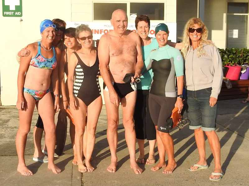 Mollymook Ocean swimmers