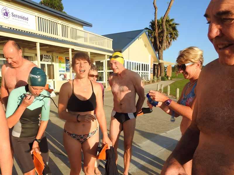 Ocean swimmers