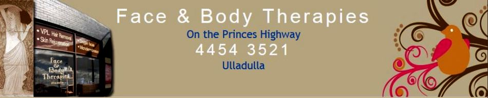Face & Body Therapy,Beauty Treatments,Ulladulla,face and body therapies