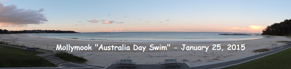 Mollymook Ocean Swimmers,Mollymook,beach,Swimmers,Australia Day,swim
