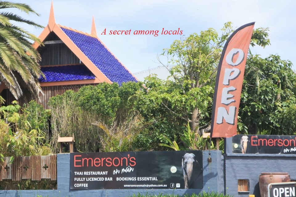 Emerson's on main,Thai, Thai Restaurant,restaurant,mollymook beach waterfront,destination mollymook milton ulladulla,ulladulla