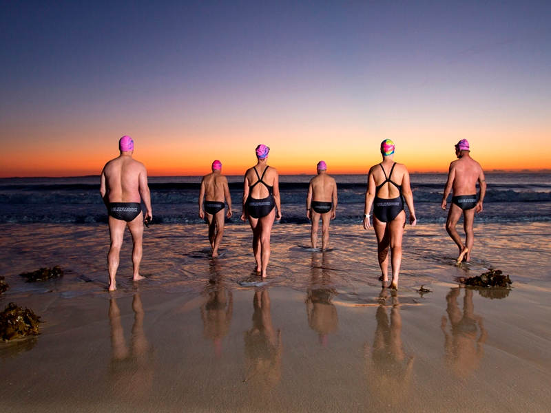 Mollymook Ocean swimmers,Mollymook Beach,Mollymook Beach Waterfront