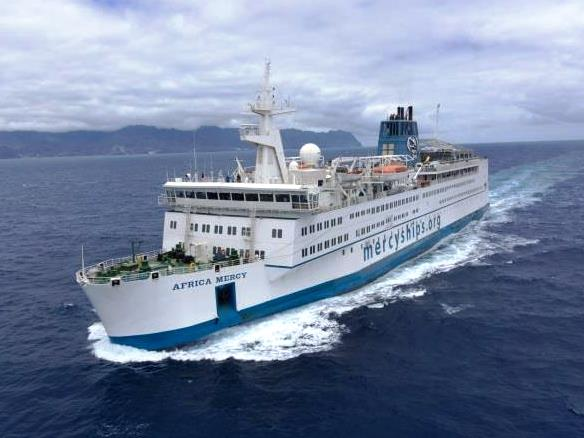 floating hospital,Seven's Sunday Night,Africa,Mercy Ships,mollymook,beach,ocean swimmers,Africa Mercy