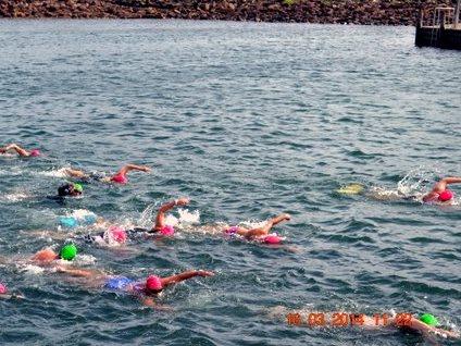 Mollymook,ocean swim,ocean swimmers,swimmers, surf club